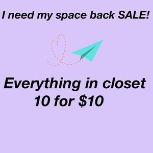 Accessories - I need my space back SALE